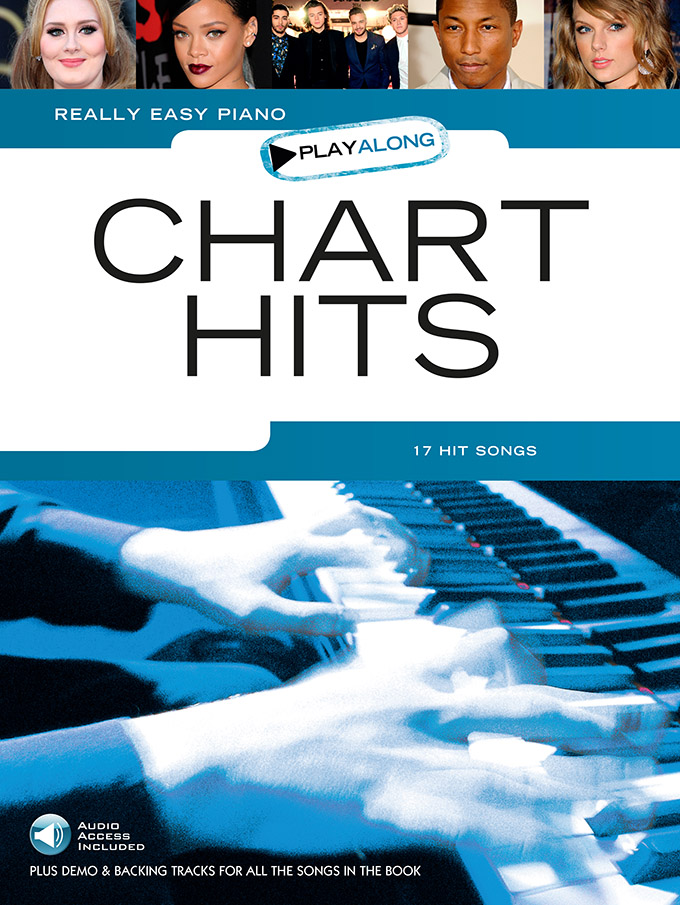 Really Easy Piano Playalong: Chart Hits: Easy Piano: Mixed Songbook