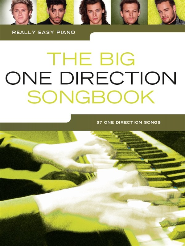 One Direction: Really Easy Piano: The Big One Direction Songbook: Easy Piano: