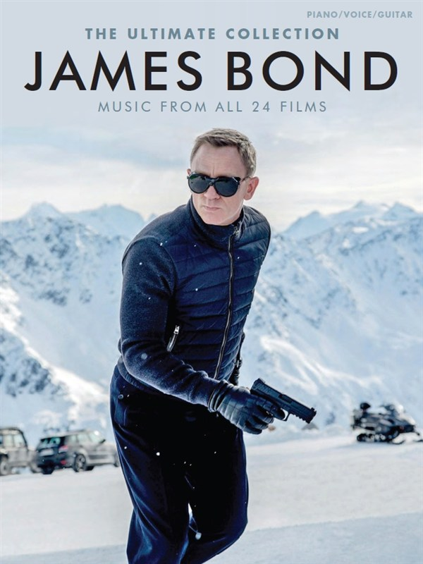 James Bond Music From all 24 Films: Piano  Vocal  Guitar: Mixed Songbook