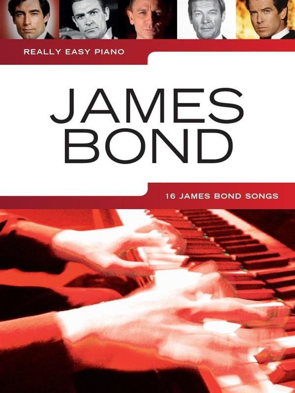 Really Easy Piano: James Bond: Easy Piano: Mixed Songbook