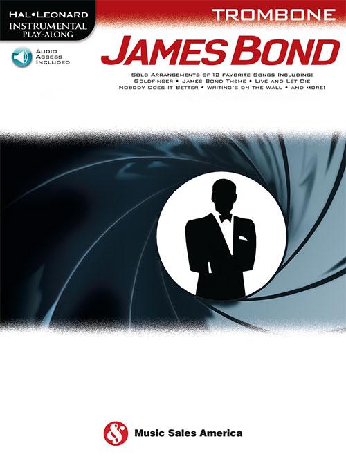 Hal Leonard Instrumental Play-Along - James Bond: Trombone: Instrumental Album