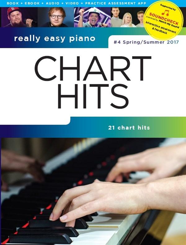Really Easy Piano: Chart Hits Spring/Summer 2017: Easy Piano: Mixed Songbook