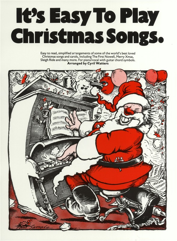 It's Easy To Play Christmas Songs: Piano  Vocal  Guitar: Mixed Songbook