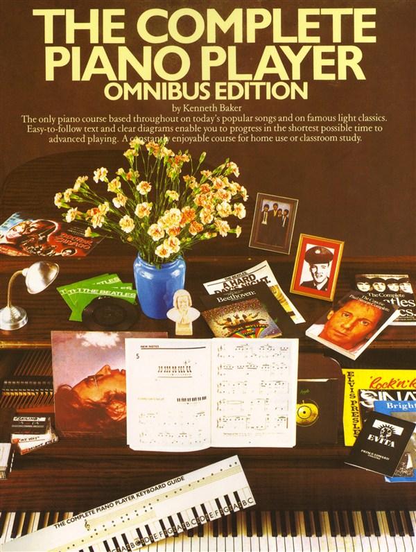The Complete Piano Player: Omnibus Edition: Piano: Instrumental Tutor