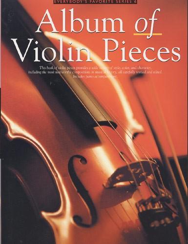 Album Of Violin Pieces: Violin: Instrumental Album