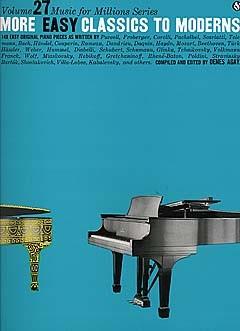 More Easy Classics To Moderns: Piano: Instrumental Album