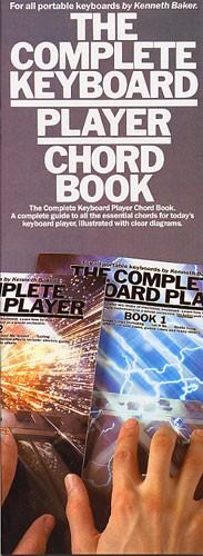 The Complete Keyboard Player: Chord Book: Electric Keyboard: Instrumental Tutor