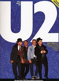 U2: The Best Of U2: Guitar TAB: Artist Songbook