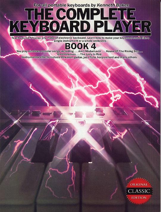 The Complete Keyboard Player: Book 4: Electric Keyboard: Instrumental Tutor
