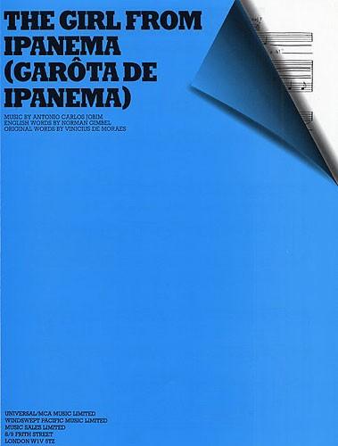Antonio Carlos Jobim: The Girl From Ipanema: Piano  Vocal  Guitar: Single Sheet