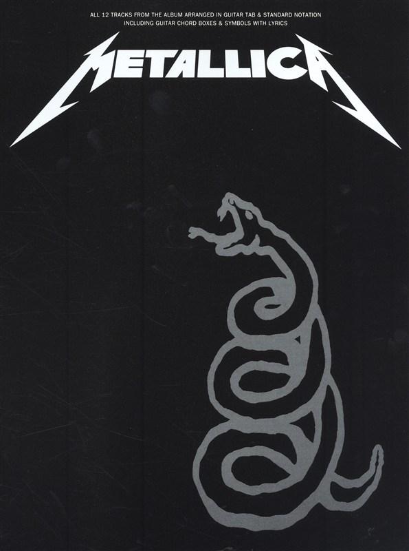 Metallica: METALLICA - The Black Album: Guitar TAB: Album Songbook