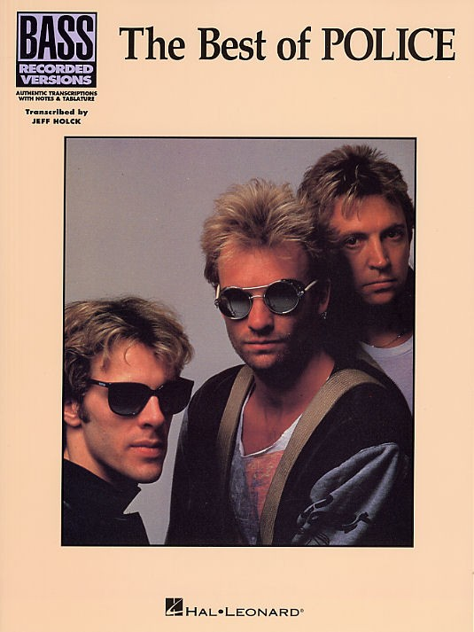 The Police: The Best Of Police: Bass Recorded Versions: Bass Guitar: Artist