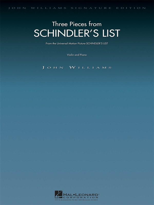 John Williams: Three Pieces From Schindler's List: Violin: Instrumental Album