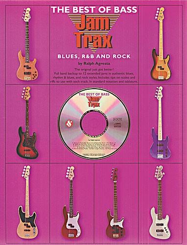 Agresta: Jam Trax Blues R&B Rock: Bass Guitar: Instrumental Album