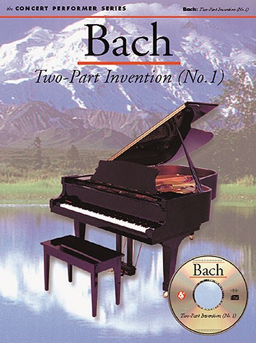 Johann Sebastian Bach: Bach: Two-Part Invention (No. 1): Piano: Instrumental