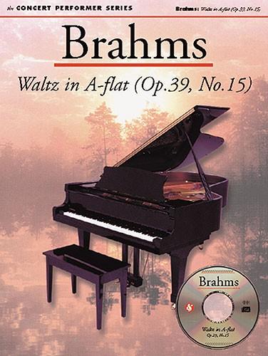 Johannes Brahms: Waltz In A Flat (Op.39  No.15): Piano: Instrumental Work