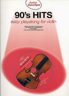 Junior Guest Spot - 90's Hits: Violin: Instrumental Album