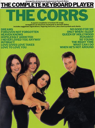 The Complete Keyboard Player: The Corrs: Electric Keyboard: Instrumental Album
