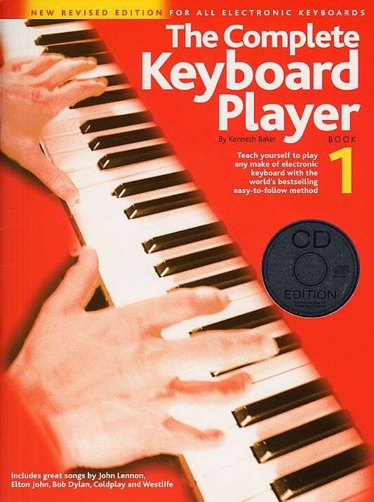 Kenneth Baker: The Complete Keyboard Player: Book 1 With CD: Electric Keyboard: