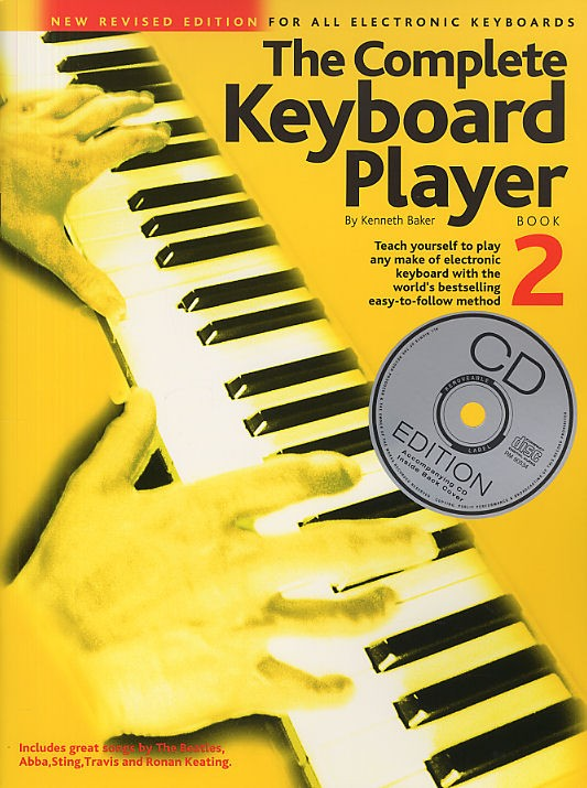 Kenneth Baker: The Complete Keyboard Player: Book 2 With CD: Electric Keyboard: