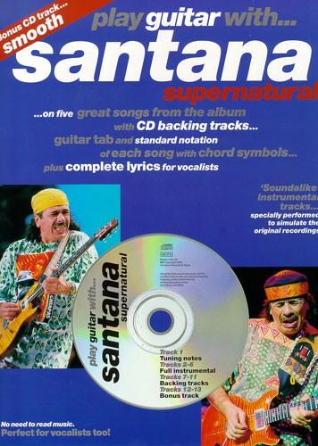 Santana: Play Guitar With... Santata Supernatural: Guitar TAB: Instrumental