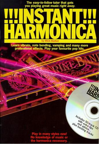 Kenneth Baker: Instant Harmonica: Harmonica: Instrumental Tutor