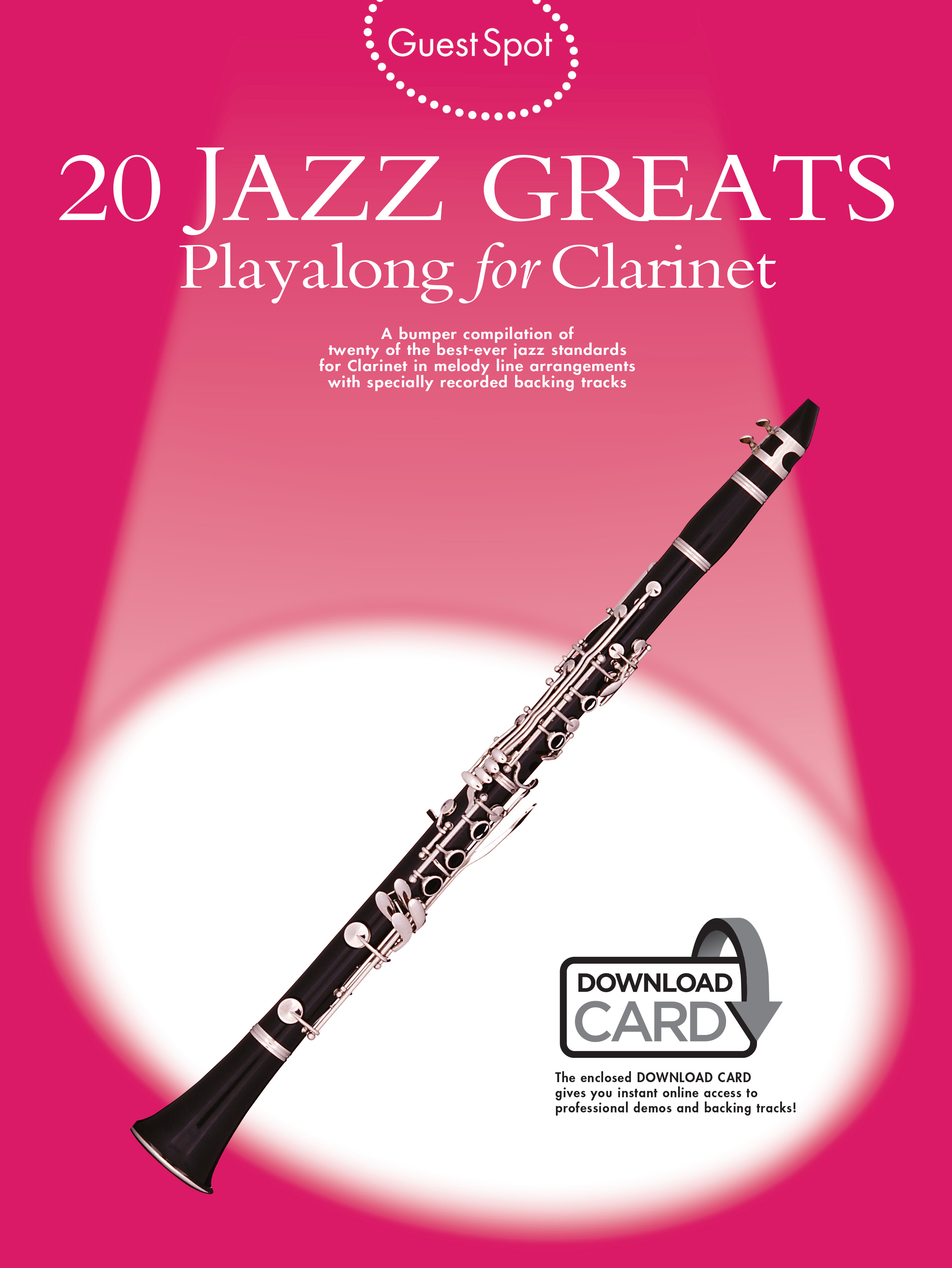 Guest Spot: 20 Jazz Greats: Clarinet: Mixed Songbook