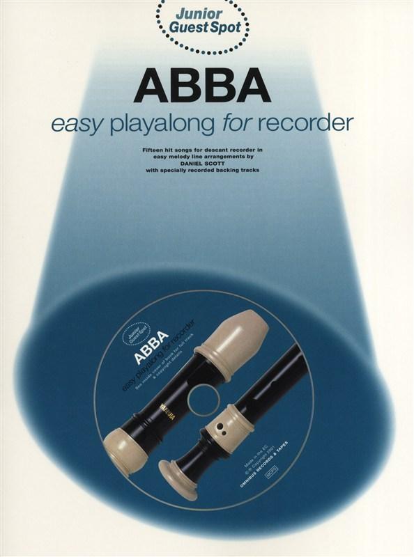 ABBA: Junior Guest Spot - Abba: Descant Recorder: Instrumental Album