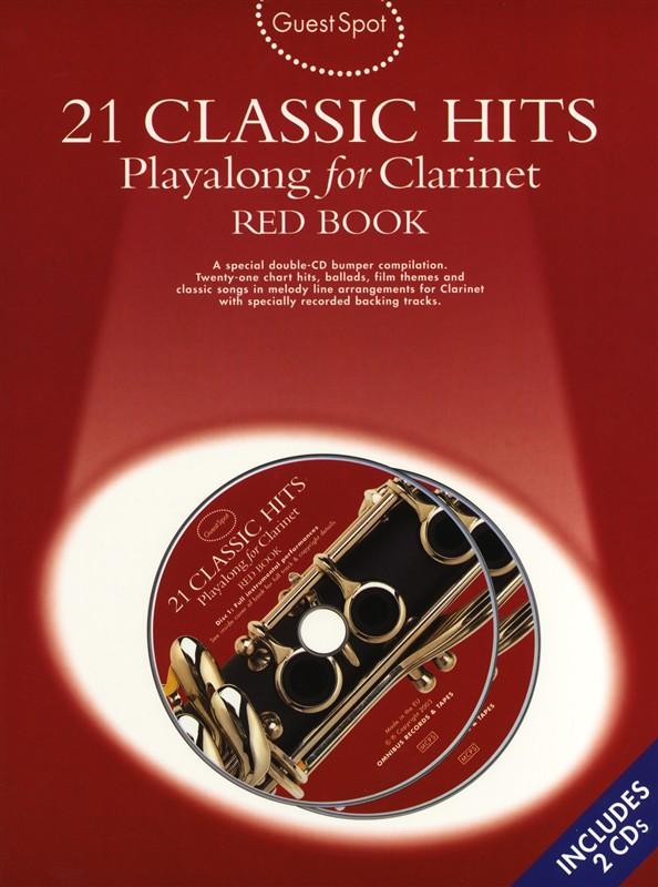 Guest Spot: 21 Classic Hits: Clarinet: Instrumental Album