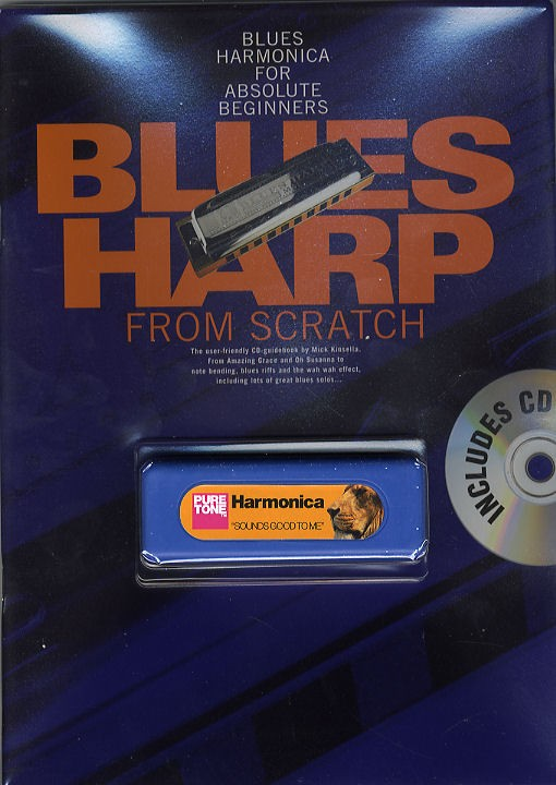 Mick Kinsella: Blues Harp From Scratch: Harmonica: Instrument Pack