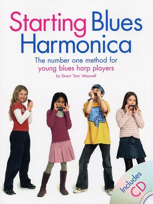 Starting Blues Harmonica: Harmonica: Instrumental Tutor