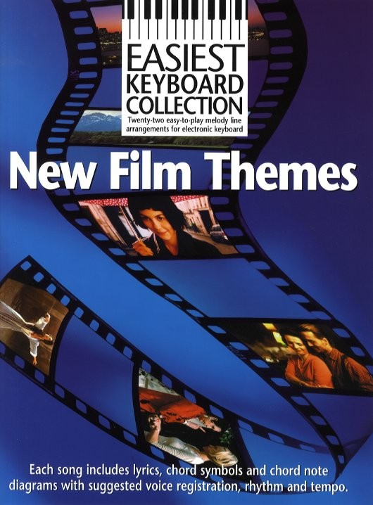 Easiest Keyboard Collection: New Film Themes: Electric Keyboard: Instrumental