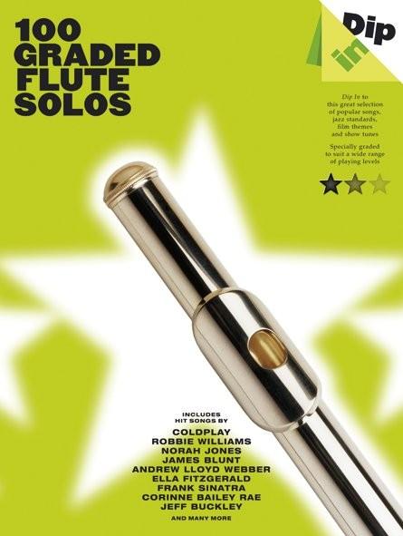 Dip In 100 Graded Flute Solos: Flute: Instrumental Album
