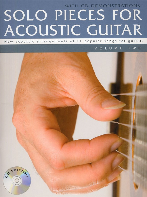 Solo Pieces For Acoustic Guitar: Guitar: Instrumental Album
