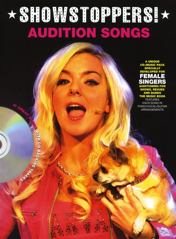 Audition Songs For Female Singers: Showstoppers!: Piano  Vocal  Guitar: Vocal