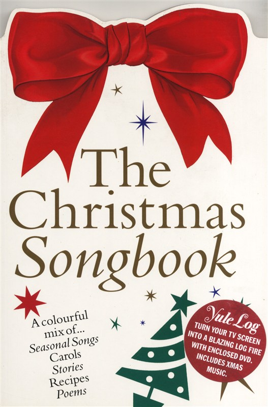 The Christmas Colour Songbook + Yule Log: Piano  Vocal  Guitar: Mixed Songbook