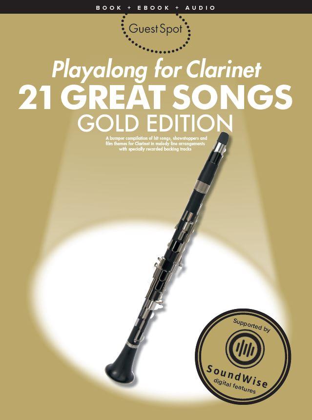 Guest Spot: 21 Great Songs: Clarinet: Instrumental Album