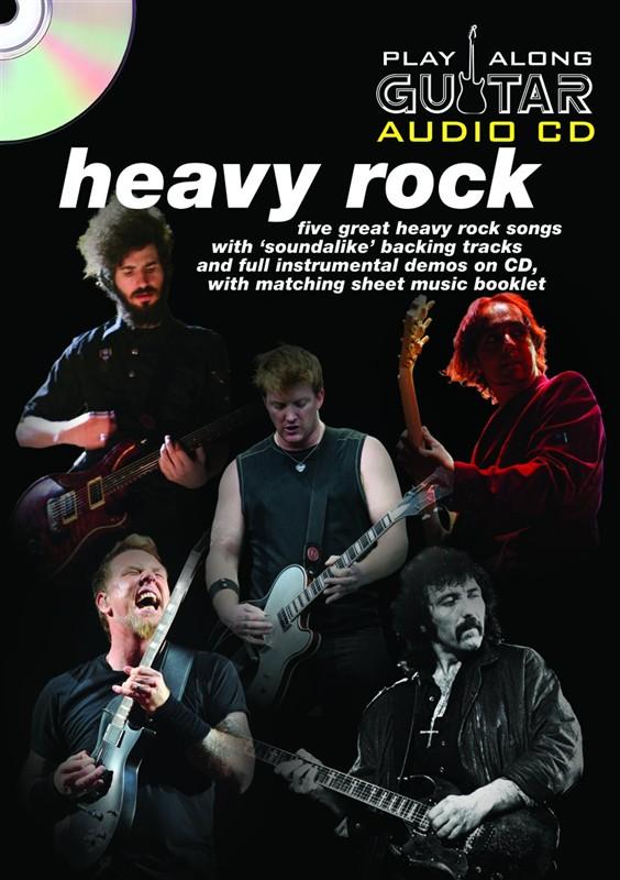 Play Along Guitar Audio CD: Heavy Rock: Guitar TAB: Backing Tracks