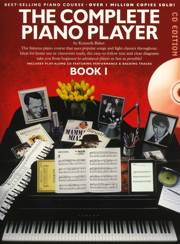 Kenneth Baker: The Complete Piano Player: Book 1 - CD Edition: Piano: