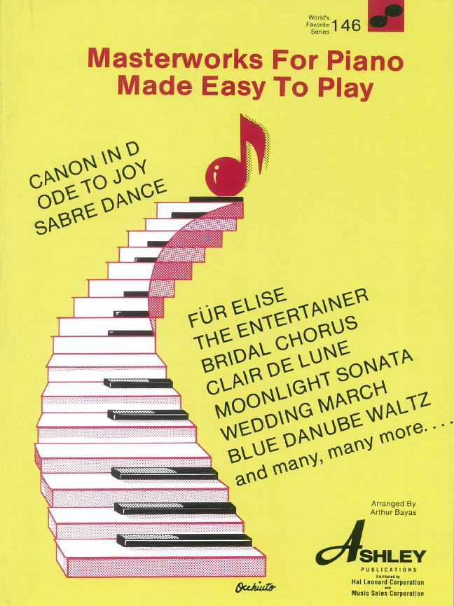 Masterworks For Piano Made Easy To Play (WFS 146): Piano: Instrumental Album