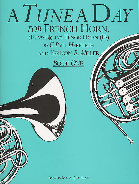 Alfred Mayer Paul Herfurth: A Tune A Day For French Horn Book One: French Horn: