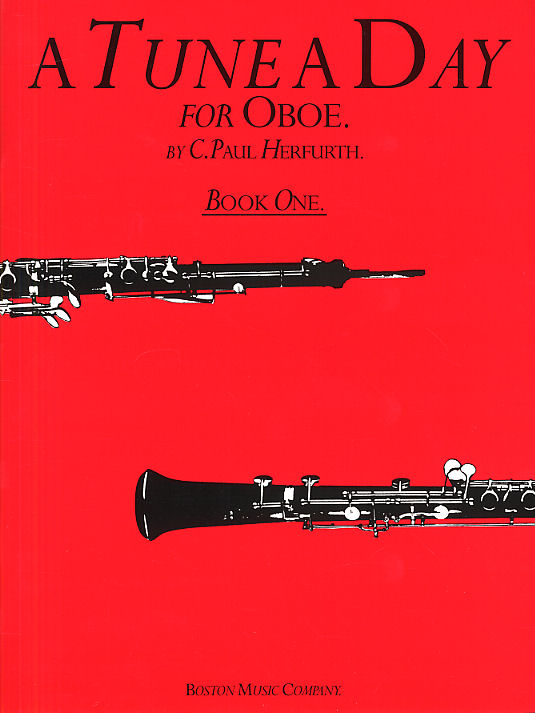 Paul Herfurth: A Tune A Day For Oboe Book One: Oboe: Instrumental Tutor