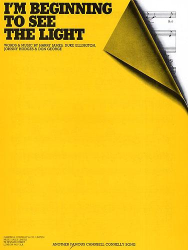 Duke Ellington Harry James Johnny Hodges: I'm Beginning To See The Light: Piano
