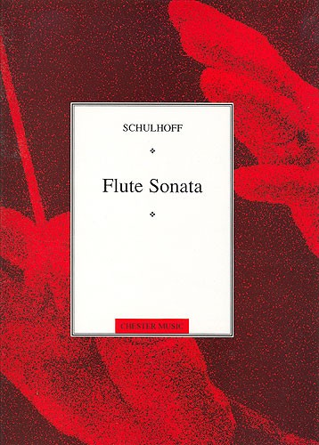 Erwin Schulhoff: Flute Sonata: Flute: Instrumental Work