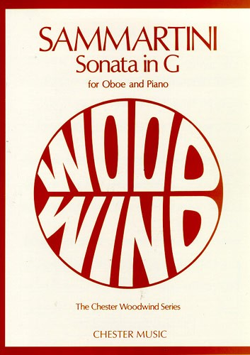 Giovanni Sammartini: Sonata In G For Oboe And Piano (Chester Woodwind)