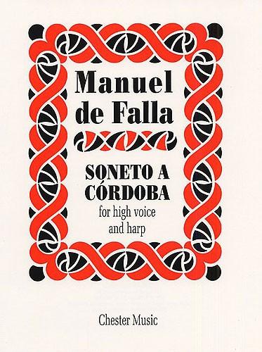 Manuel de Falla: Soneto A Cordoba: High Voice: Instrumental Work