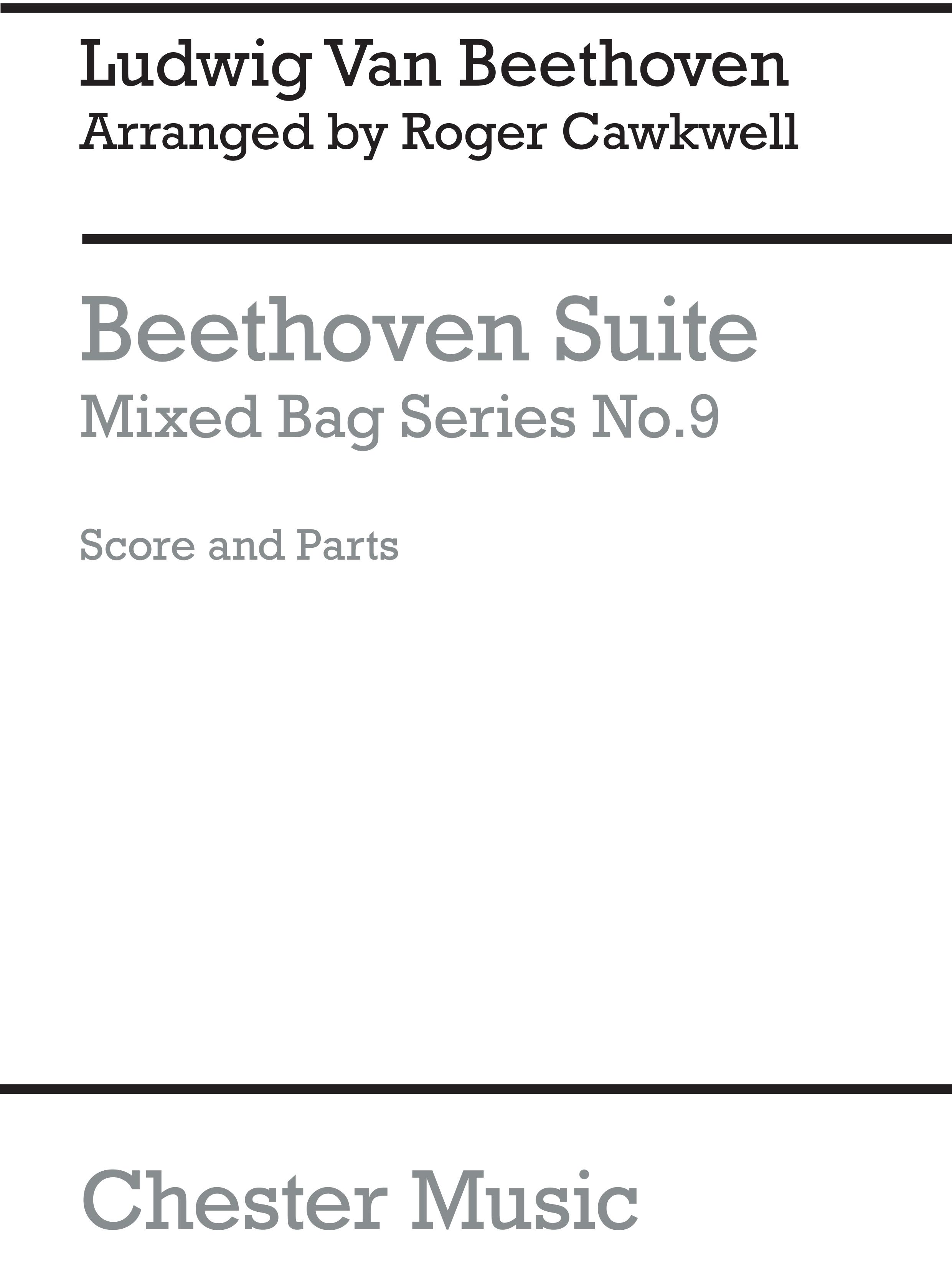 Ludwig van Beethoven: Suite: Wind Ensemble: Score and Parts