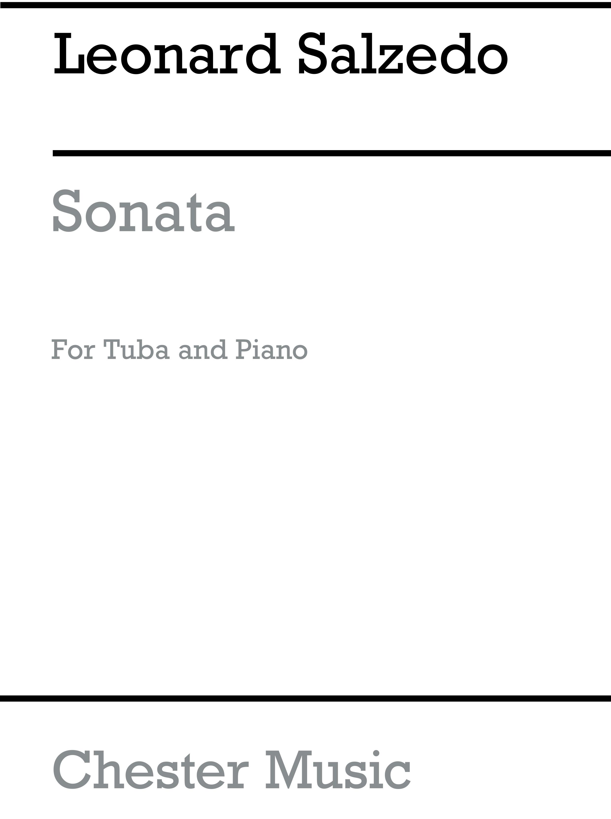 Leonard Salzedo: Sonata for Tuba and Piano Op.93: Tuba: Instrumental Work
