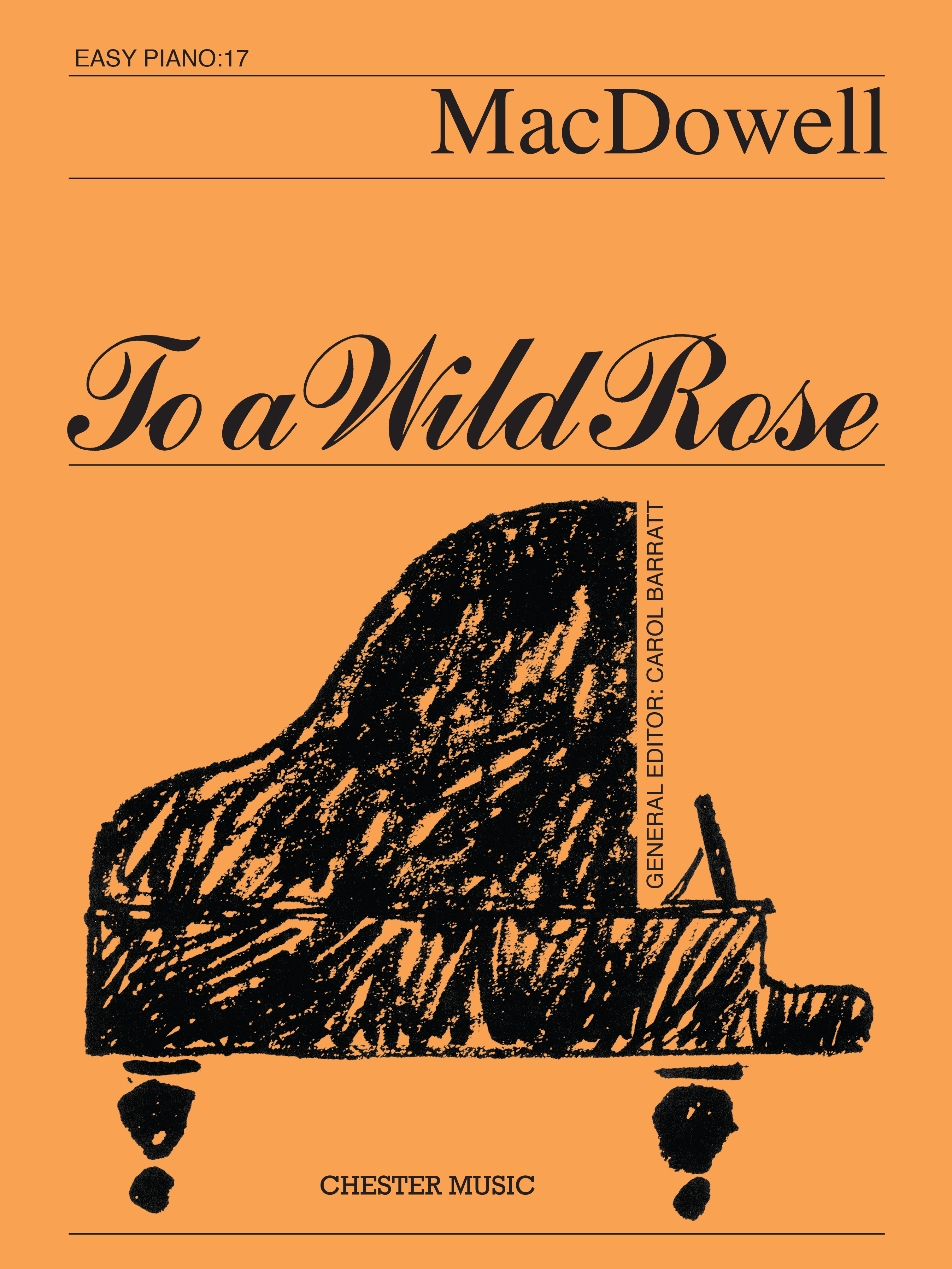 Edward MacDowell: To a Wild Rose (Easy Piano No.17): Easy Piano: Single Sheet