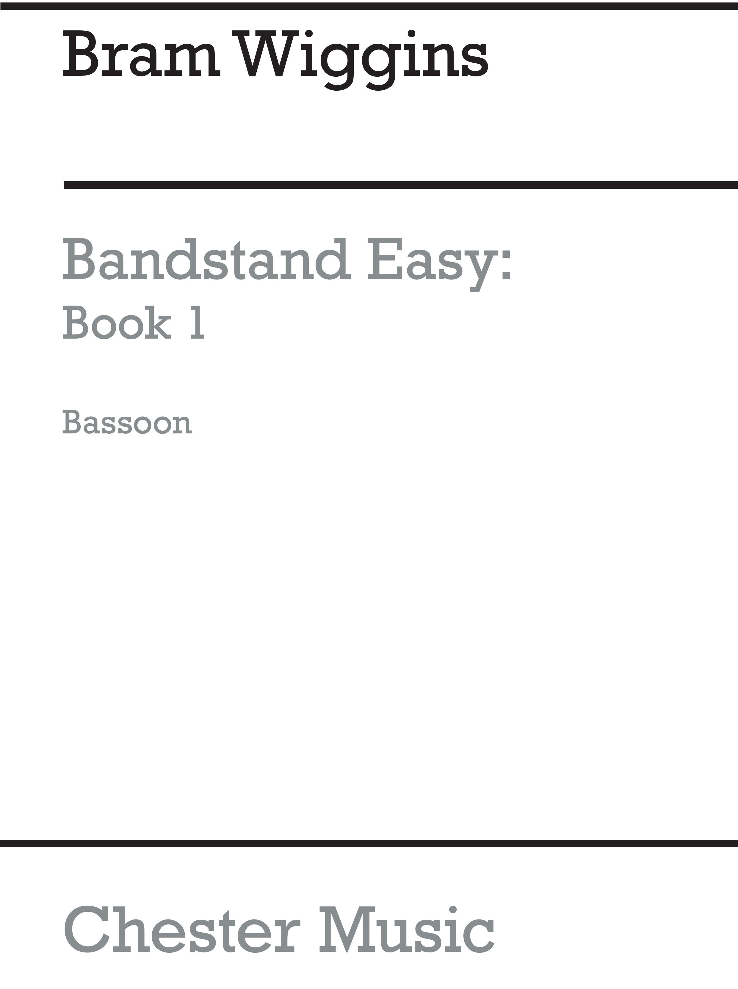Bram Wiggins: Bandstand Easy 1 (Bassoon): Concert Band: Part